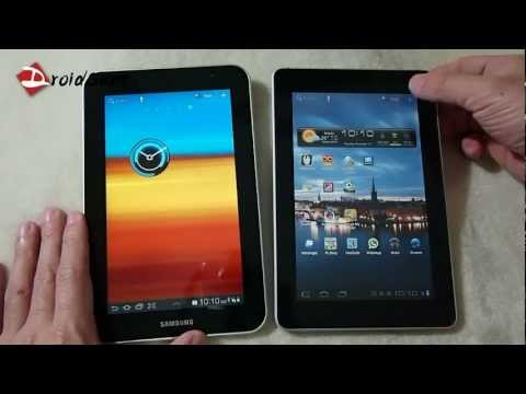 DroidSans Review : Samsung Galaxy Tab 7 Plus vs Huawei Media Pad (in Thai)