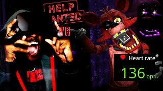 FOXY + HEART RATE MONITOR = HEART PROBLEMS | Five Nights At Freddy's VR: Help Wanted (Easter Egg)