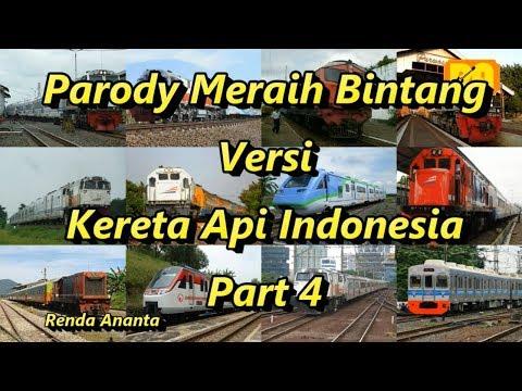 , title : 'Parody Meraih Bintang Versi Kereta Api Indonesia Part 4'