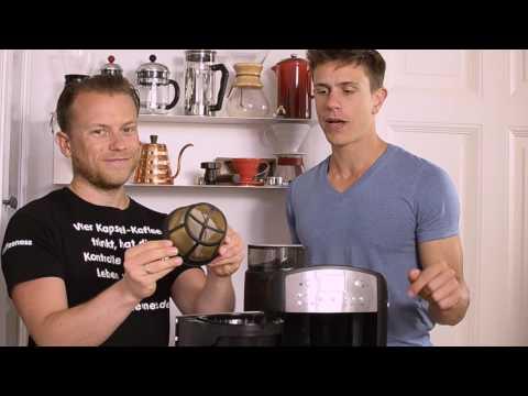 BEEM Fresh Aroma - Kaffeemaschine mit Mahlwerk und Goldfilter - bestes Mahlwerk im Test