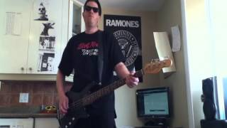Chixdiggit - Hemp Hemp Hooray bass cover