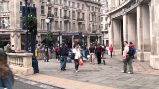 preview picture of video 'London - Oxford Circus & Regent Street'
