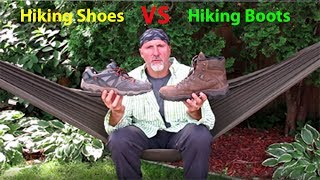 What is better hiking shoes or boots