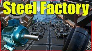 Satisfactory Gameplay | Steel Factory Pt 1