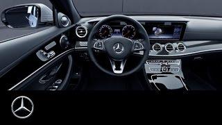 360° video of the E-Class interior view – Mercedes-Benz original