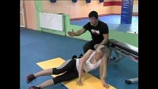 тренировка ног-убираем галифе