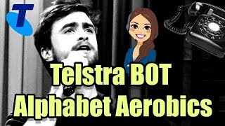 Telstra chick raps alphabet aerobics