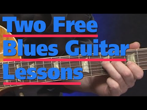 Free Guitar Lessons | Absolute Beginners Blues Guitar With Danny Gill