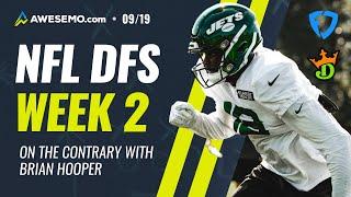 NFL DFS  PICKS WEEK 2: CONTRARIAN PICKS FROM WORLD'S #1 DFS PLAYER DRAFTKINGS + FANDUEL