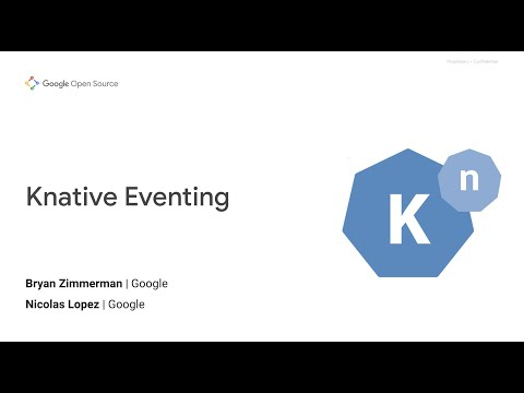 Event-driven architecture with Knative events