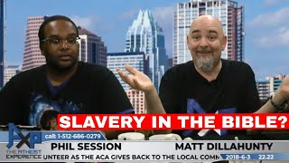 Reasons for Believing & Slavery in the Bible | Michael - CA | Atheist Experience 22.22
