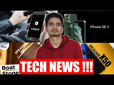 Tech News - iphone Se 2, Free Indian Railways Wifi,Realme X50 Pro, Boat New Speakers,Snapdragon 865+