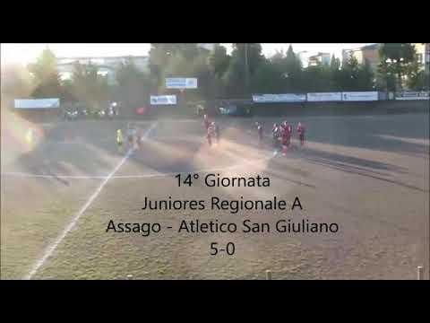 Preview video (Juniores) ASSAGO - ATLETICO SAN GIULIANO