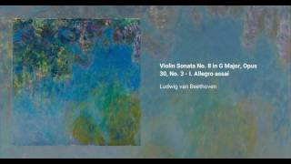 Violin sonata no. 8 in G major, Op. 30 no. 3