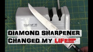 BOLTR: Electric Knife Sharpener | *Wife is NOT impressed!