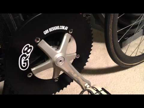 60 tooth Chainring – Track Sprint Bike