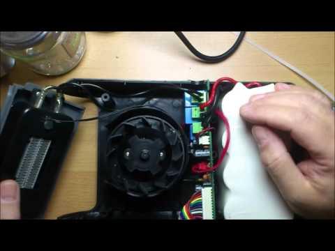 Akku Heizlüfter/battery heater