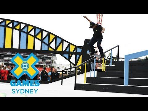 Kelvin Hoefler wins silver in Men's Skateboard Street  | X Games Sydney 2018