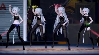 [MMD] 1754 Sexy Miku & Haku Tipsy [DL][1080P,60FPS][RAY MMD]
