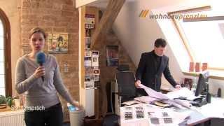 preview picture of video 'Stadtgespräch TV Prenzlau im Januar 2014 - Kietz Karree, Bauvorhaben 2014 und DRK Begegnungsstätte'