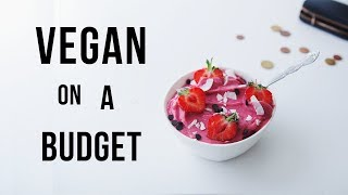 How to go Vegan on a budget