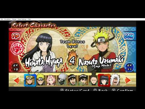 Six Paths Mission with Hinata & Sage Mode Naruto (NARUTO SHIPPUDEN  Ultimate Ninja Impact)