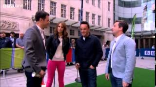 Ant & Dec - The One Show 5th June 2014