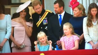 British Royal Family Depart & Meghan