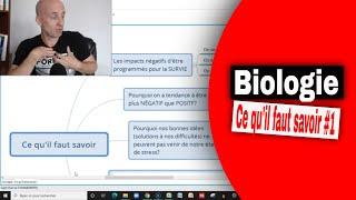 Biologie ce quil faut savoir 1