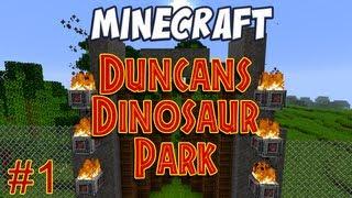 Crazy Minecraft - DISCOVERING THE RAREST DINOSAUR DNA
