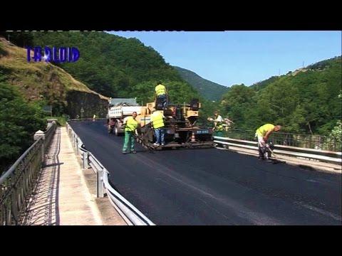 Campo Ligure, motociclisti sicuri col nuovo asfalto sulla SP 456