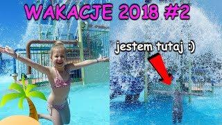 WAKACJE 2018 VLOG #2 BASENY ZJEŻDŻALNIE WODNE I MORZE :) Grecja - Zakynthos