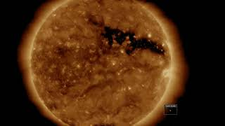 Hole In The Sun Bigger Than A Hundred Earths