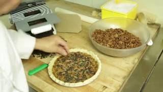 Chef Jean-Jacques Bernat's Chocolate Pecan Pie