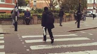 London Abbey Road crossing- one of the special mom - tukiguitarman