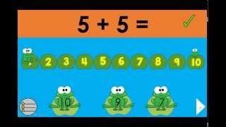 Swamp Jump: Counting On  Number Line Game