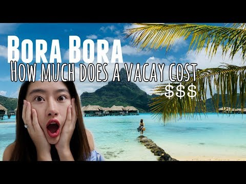 🌊Bora Bora - How Much It Cost For 6 Days? Money Saving Tips! 💰中文字幕 Mp3