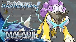 Raikou Team Builder! - Pokemon Showdown OU Team Building w. macadii (Smogon ORAS OU)