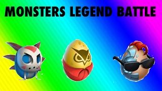 Youtuber Monster Legend Battle