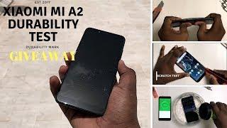 Xiaomi Mi A2 Durability Test - Drop test,Bend Test,water test, Flame Test ,Scratch test