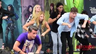 Cast Of #descendants How-to-dance