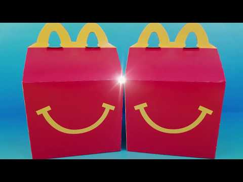 2019 NEXT McDONALDS HAPPY MEAL TOYS REVEAL SPIDER-MAN RALPH BREAKS THE INTERNET MONSTER JAM SHOPKINS