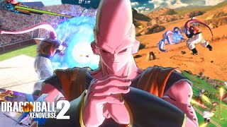 The STRONGEST DBZ Villain! SUPER BUU Gohan Absorbed! Dragon Ball Xenoverse 2
