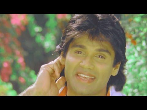 Sunil Shetty, Divya Bharti, Balwaan -  Romantic Scene 5/24