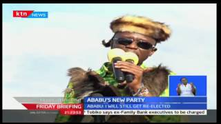 Budalang'I residents hold a homecoming party for Ababu Namwamba