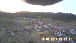 preview picture of video '12. HAWK SKY , SAN LORENZO DE CALATRAVA  AEROMODELISMO PUERTOMODEL'