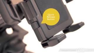 PanaVise Black 15509 Portagrip Phone Holder With 709b Suction Cup Mount - Product Tour