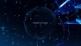 Hi tech background effects animation | technology stock footage | futuristic background video loop