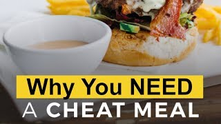 Here's Why You SHOULD Cheat On Your Diet (Cheat Meals For Weight Loss)