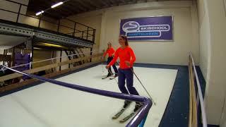 Bekijk deze video van de baan en skilessen voor jong en oud